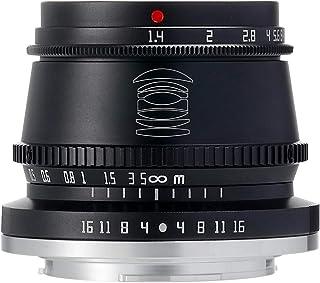 【国内正規品】銘匠光学 TTArtisan 35mm f/1.4 C (マイクロフォーサーズ, ブラック) 「2年保証付」