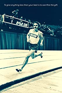TLart Art Poster Steve Prefontaine 16x24 inches Fabric Cloth Rolled Wall Poster Unframed for Wall Decoration