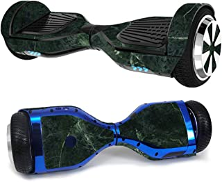 MightySkins Skin Compatible with Hover-1 H1 Hoverboard Scooter - Green Marble | Protective, Durable, and Unique Vinyl Decal wrap Cover | Easy to Apply, Remove, and Change Styles | Made in The USA