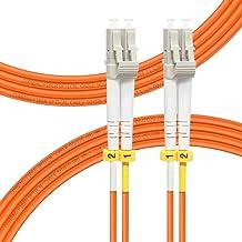 FLYPROFiber 4Meter(13ft) Fiber Patch Cable OM1 Multimode Duplex LC-LC 50/125um Fiber Optic Cable for SFP+ Transceiver Fibe...