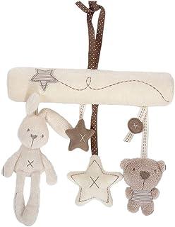 Stroller Toy Infant Newborn Baby Crib Toys Pram Bed Bells Soft Hanging Toys Animal Handbells Rattles