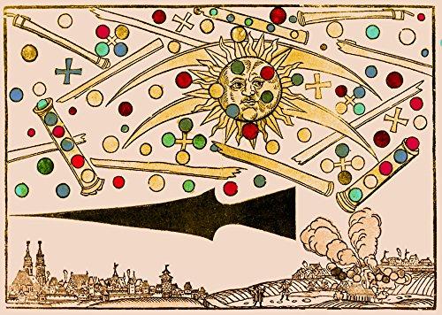 Science Source ニュルンベルクUFO Phenomenon 1561 ポスタープリント (24 x 18)