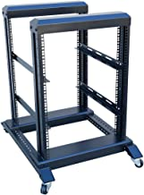 22U 4 Post Open Frame 19'' Server/Audio Networking Data Steel Rack Deep 24