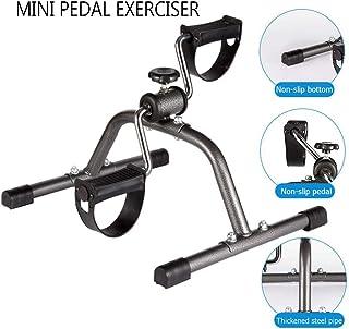 PA Mini Bicicleta Estática, Casa Mini Pedal Bicicleta para Entrenador de Brazos y Piernas Bicicleta Estática Mini Pedal Bicicleta