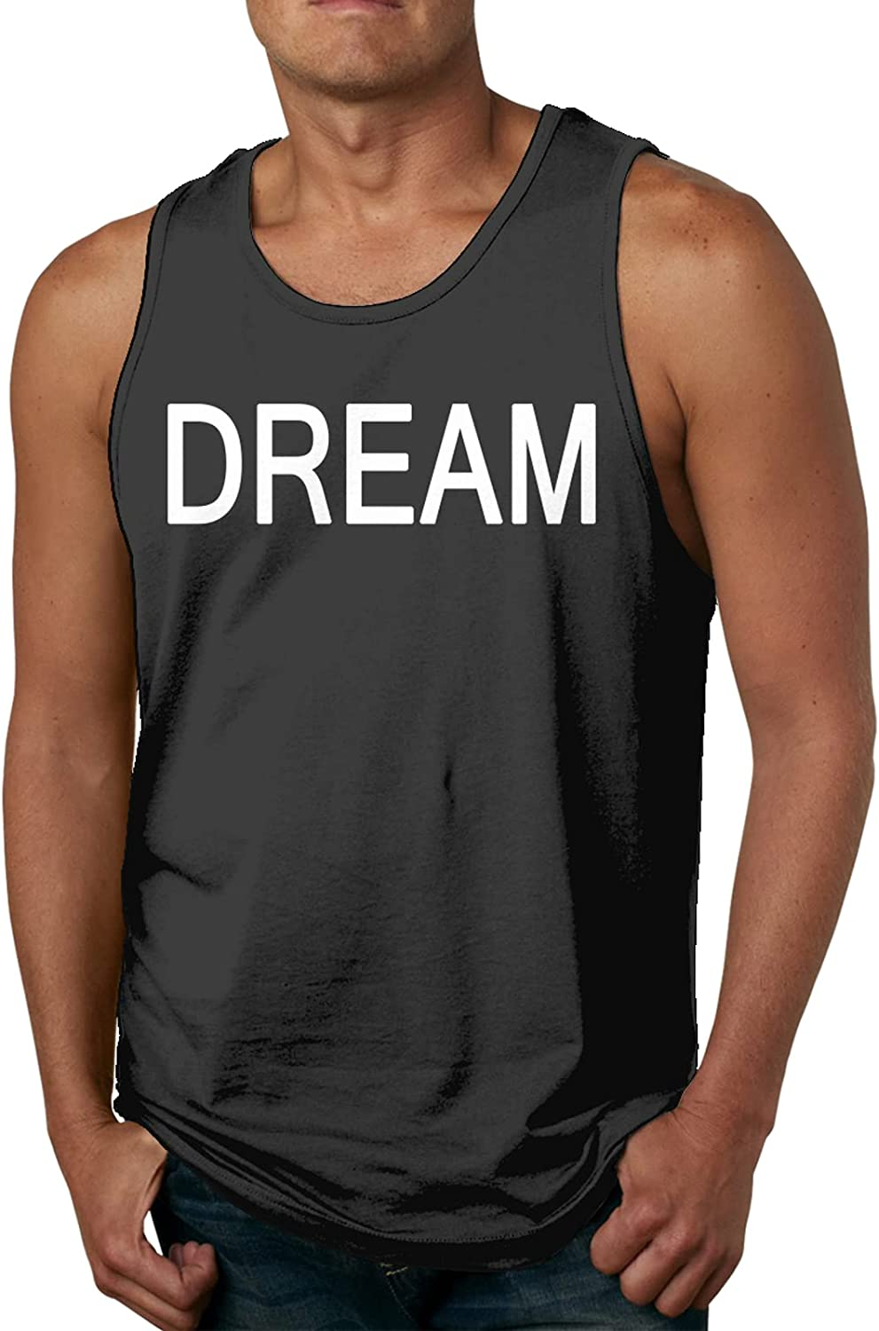Dream Mens Slimming OFFicial store Import Compression Muscle Casual Sp Tank Sleeveless