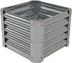 corrugated metal planter box
