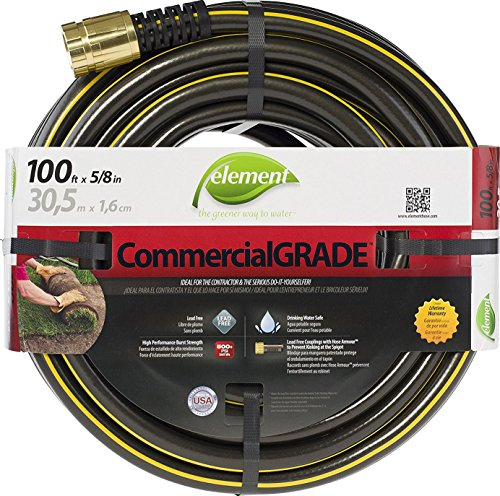 Swan Products ELIH58100 Element CommercialGRADE Industrial Water Hose with Crush Proof Couplings 100