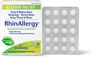 Sponsored Ad - Boiron Rhinallergy Homeopathic Medicine for Allergy Relief, 60 Count