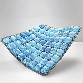 Demiawaking Letto Galleggiante Gonfiabile per Piscina Poltrona da Piscina Gonfiabile per Adulti 132 x 70cm Azzurro
