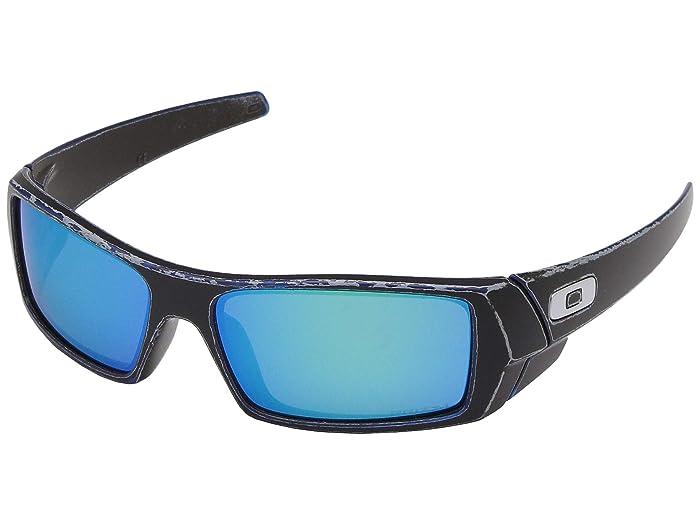 Oakley GasCan (Raceworn Blue) Sport Sunglasses