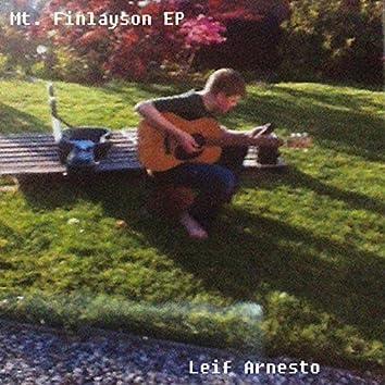 Mt Finlayson - EP