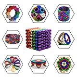 Toys Magnetic Ball, Magnetic Sculpture Toys for Intelligence Development and Stress Relief