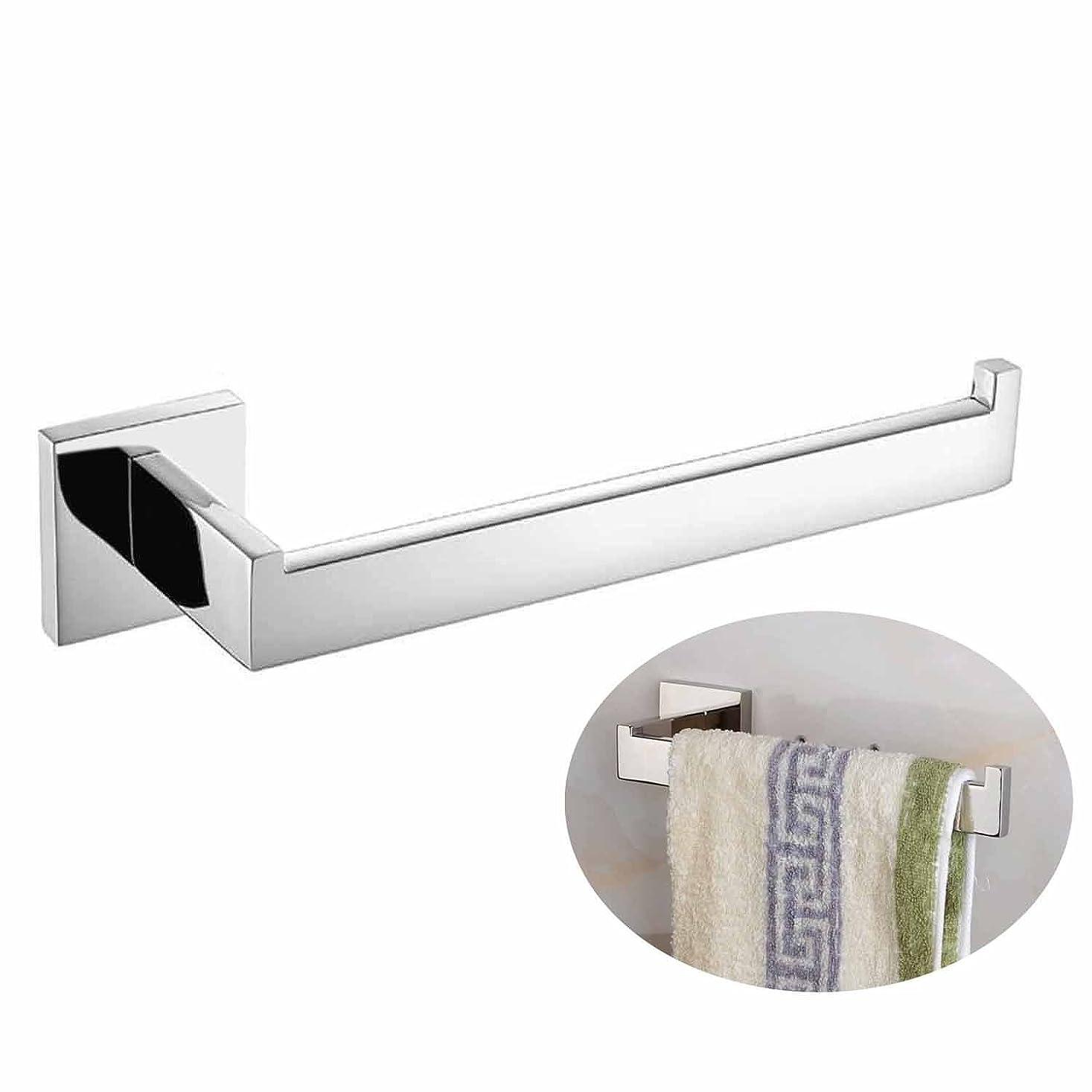 三角どちらも九時四十五分(Mirror Polishing) - Luxury Mirror Polishing 304 Stainless Steel Chrome Finished Towel Bar Single Rack Hanging Holder, Wall Mount Bathroom Accessories