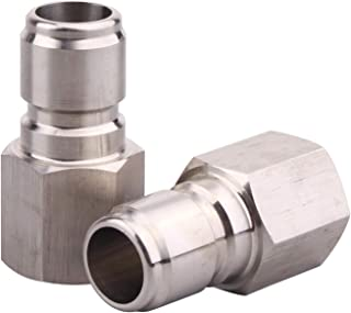 DERNORD Stainless Steel Female Quick Disconnect FPT 3/8