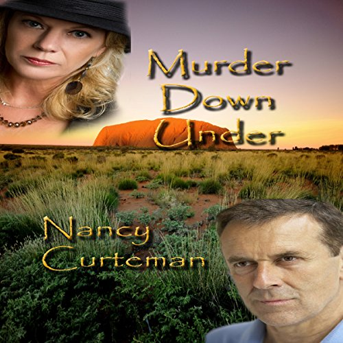 Murder Down Under audiobook cover art