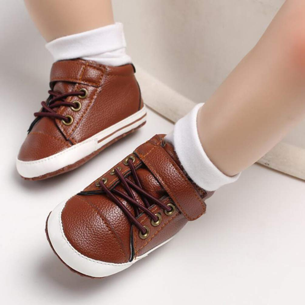 Kids Top Sneaker,Spring and Autumn 0-1 Years Old Casual Shoes Soft Bottom Non-slip Shoes Toddler Shoes,Unisex Kids Jefferson Slip-On Sneaker
