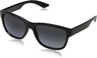 برادا لونا روسا نظارة شمسية كاجوال للرجال - رمادي