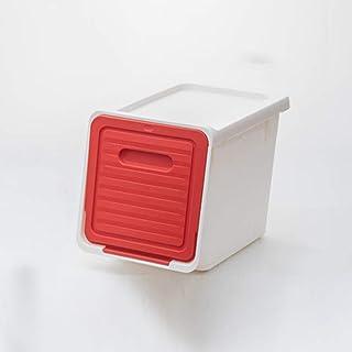 OJPOGHU Boîte de Rangement latérale en Plastique de Rangement de Jouets, S, Jouets, Stockage de vêtements, Boîte Pratique ...