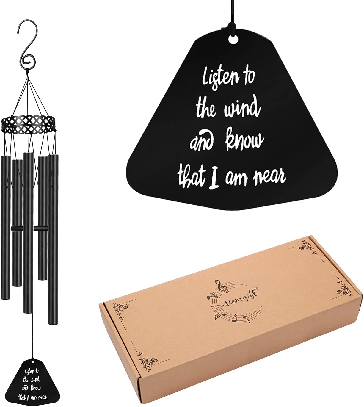 Memorial Wind Popular Superlatite Chimes for Loss of Sympathy One Loved Prime Gifts