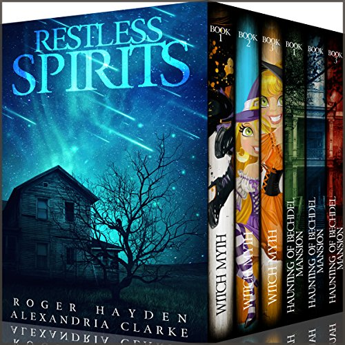Restless Spirits Super Boxset audiobook cover art
