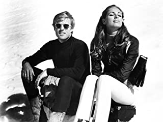Downhill Racer From Left Robert Redford Camilla Sparv 1969 Photo Print (28 x 22)