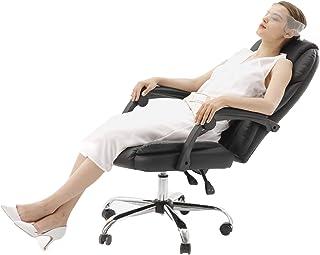LYJBD Sillas de Escritorio con Ruedas Silla de Escritorio para computadora de Oficina Oficina en casa Respaldo Alto Respaldo ergonómico Asiento Ejecutivo para ejecutivos, redacción, Juegos u Oficina