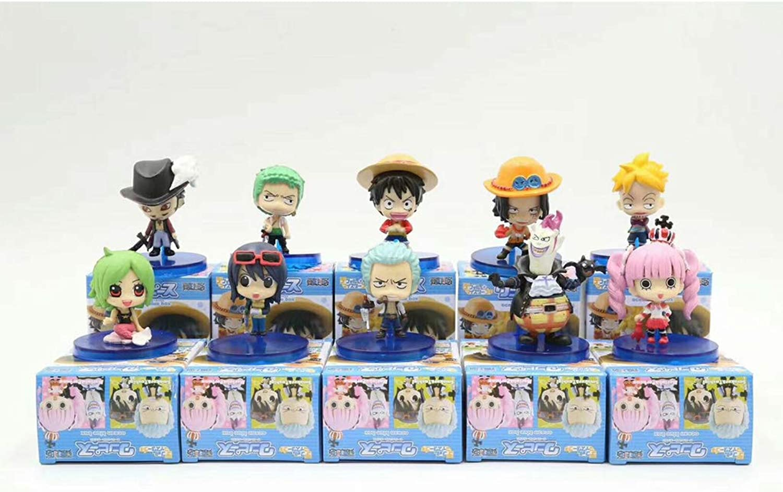comprar ahora QYLOZ Juguete Estatuilla Modelo Juguete Anime Personaje Recuerdo Recuerdo Recuerdo Adorno 10 Combinación  n ° 1 en línea