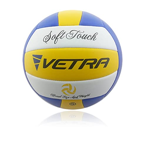 0901337c073d Vetra Volleyball Soft Touch Volley Ball Official Size 5 Outdoor Indoor  Beach Gym Game Ball New