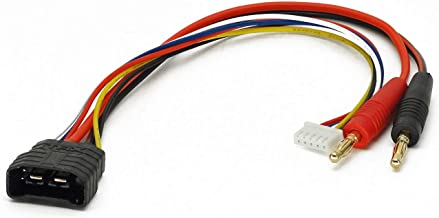 FLY RC 2pcs 4mm Bullet Banana to Female Traxxas TRX LiPo Battery Lead Wire /& JST-XH Balance