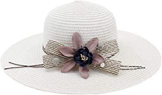 Sun Hat for men and women Handmade Straw Hat Ladies Casual Flower Design Women Summer Beach Hat topee Foldable