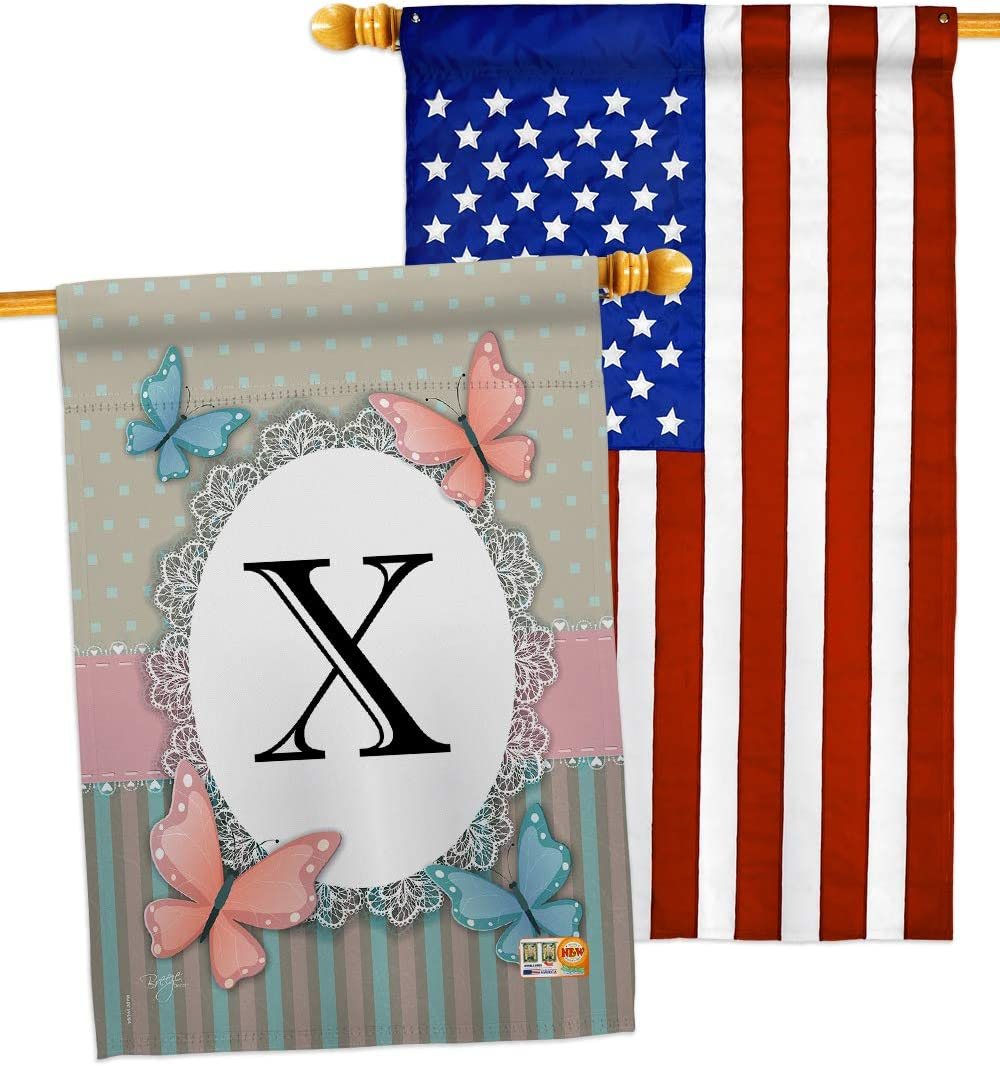 Breeze Decor Outlet ☆ Free Shipping Bugs Frogs Butterflies House Initial Outlet SALE Pack X Flags