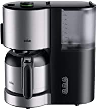Braun koffiezetapparaat KF 5105 BK – IDCollection filterkoffiemachine, met AromaSelect & 10 koppen thermoskan perfect geno...