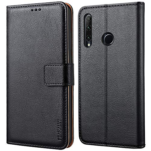 Peakally Cover per Huawei Honor 20 Lite, Flip Caso in PU Pelle Premium Portafoglio Custodia per...