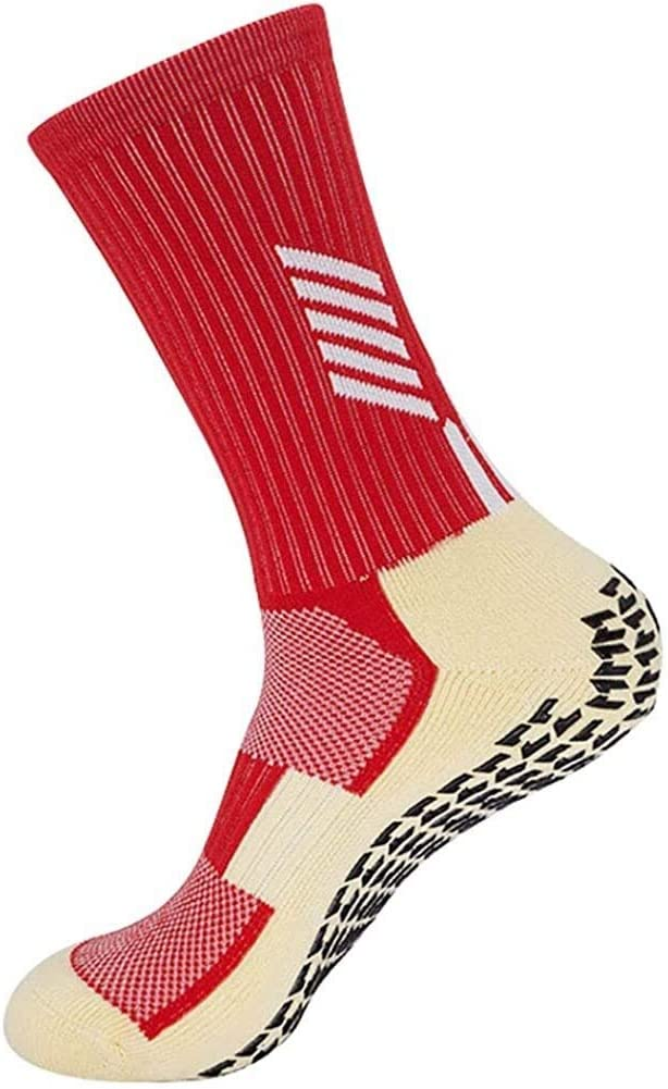 RENFEIYUAN Sports Socks Spring new work one after another Mens and Womens Thicken Cr Cushion Super-cheap