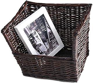 Nai-storage Caja de Almacenamiento de Gran Capacidad, cómica Revista Periódico Disco de Vinilo del Soporte de exhibición - Sala de Polvo Aseo de escombros Caja de Almacenamiento