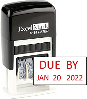 Best due date stamp Reviews