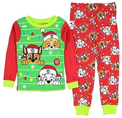 nickelodeon paw patrol little boys girls toddler christmas pajama set