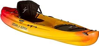 Ocean Kayak Caper Classic One-Person Recreational Sit-On-Top Kayak, Sunrise, 11 Feet