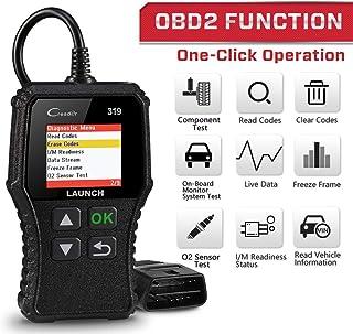 Seit 1996 OBD2 Diagnoseger/ät OBDII Scanner Codeleser fortgeschritten Detektor Universal Fahrzeugmotor O2 Sensorsysteme OBD2 EOBD Scanner Tool Check Engine Licht Kfz Codeleser Pr/üfer