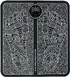 Masajeador de Pies Eléctrico EMS, Masaje del Pies para del músculo, Estimulación Muscular Eléctrica, USB portátil recargable, 6 Modos de 9 Intensidad