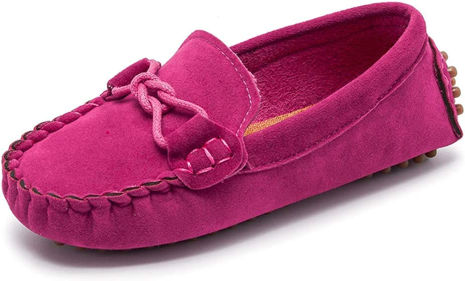 LSCOFFEE ❤️ New Baby Boy Girls Shows Kids Shoes Children Boys Girls Loafers Solid Color Soft Bottom Breathable Casual Shoes for Children 1-11Years Great Idea For A Show Gifts