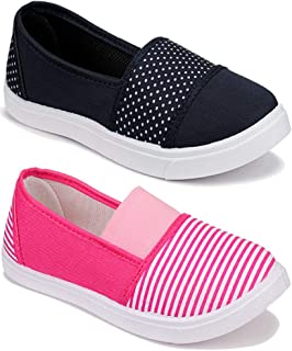 Shoefly Women Multicolour Latest Collection Sneakers Shoes- Pack of 2 (Combo-(2)-11023-11032)