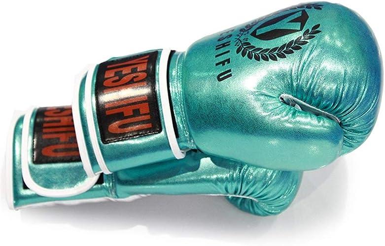 W.S.-YUE Gants de Boxe pour Garçons et Filles Gants Sanda Combat Libre équipeHommest d'entraîneHommest Gants Muay Thai Competition Sandsac , Conception d'huhommeisation