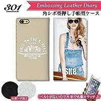 301-sanmaruichi- iPhone11Pro ケース 手帳型 おしゃれ セクシースケーターガール ストリート ロゴ メンズ B シボ加工 高級PUレザー 手帳ケース ベルトなし