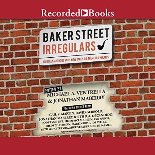 The Baker Street Irregulars audiobook cover art