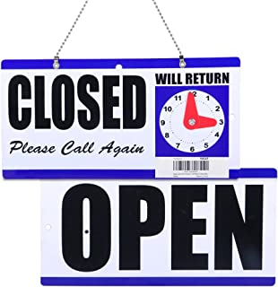 business will be closed sign