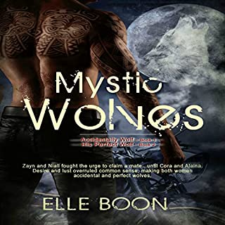 Mystic Wolves: Accidentally Wolf (Book 1) and His Perfect Wolf (Book 2)                   By:                                                                                                                                 Elle Boon                               Narrated by:                                                                                                                                 Mister Plug                      Length: 8 hrs and 43 mins     40 ratings     Overall 4.1
