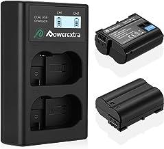 Powerextra Batería Nikon EN-EL15 de Repuesto y Cargador