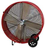 MaxxAir RED BF36DD High Velocity Direct Drive Drum Fan, 36 Inch
