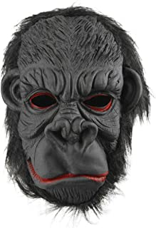 Halloween Party Cosplay Costume Porps Latex Smile King Kong Ape Full Head Mask